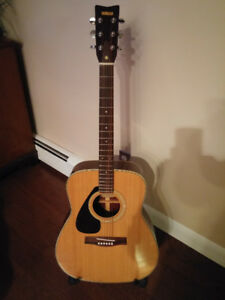 Yamaha FG335 left hand acoustic guitar vintage lefty