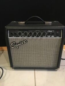 Squire by Fender guitar amp