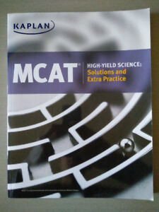 Kaplan MCAT High-Yield Science: Solutions and Extra Practice