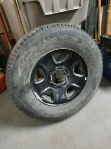"""SPARE 18""""TIRE AND RIM FOR 4TH GEN RAM"""
