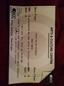 The once ticket!!