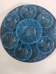 Turkish Serving Platter with small Bowls