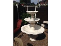 Large beautiful water fountain feature