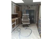 Kitchen, worktop repair, wardrobe, stairs, refurbishing/refinishing and painting