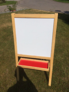 Two in one! - White Board and Blackboard