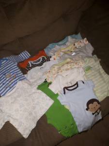 Baby boy jumpers 0-3mo.