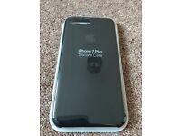 BRAND NEW APPLE IPHONE 7PLUS BLACK SILICON CASE