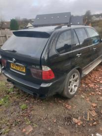 BMW X5 SPORT AUTO DIESEL SPARES OR REPAIR