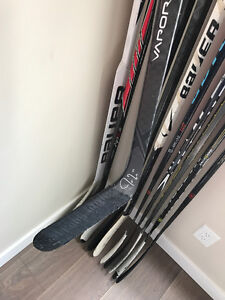 Jordan Eberle Edmonton Oilers Game Used/Signed Stick