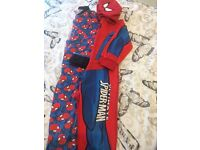 Spider-Man onesie pyjamas 5-6