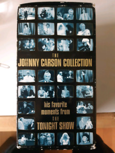 Johnny Carson favorite moments VHS collection