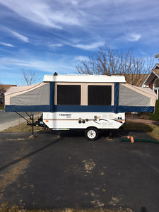 2012 Flagstaff Mac 10' Hardtop ( pop up - fold down ) Camper