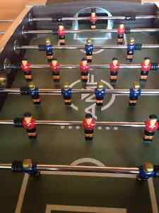 Fusball Table for Your Rec Room