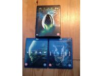 ALIEN Blu-Ray & QUADRILOGY Bundle