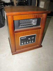 Noma Wood Cabinet 750/1500w Infared Heater