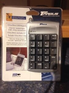 USB mini numeric keypad
