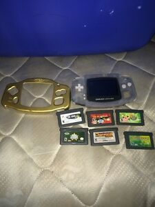 Gameboy advanced with games