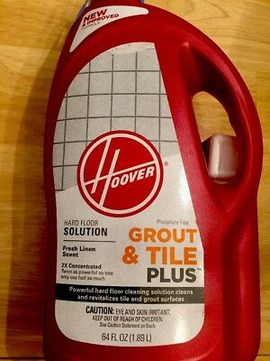 Hoover Home Kitchen Features Tile And Grout Plus 2x 64oz Hard Floor Solution