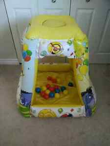 Like new. Winnie the poo playland with balls. London Ontario image 1