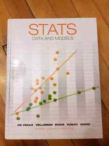 STATS DATA AND MODELS TEXTBOOK SALE