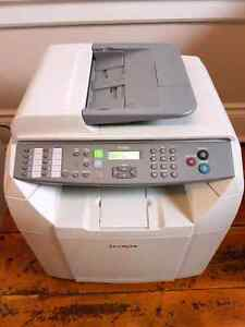 Lexmark X500n colour laser printer all in one with extras.  Kitchener / Waterloo Kitchener Area image 1