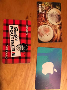 Gift Cards for Sale