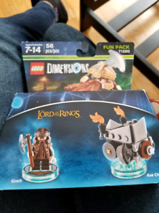 Lego dimensions Gimli fun pack