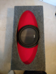 American bass xr 12 and  jl H.O wedge ported box