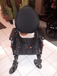 """Wheelchair, 16"""" Perfect Condition, used less than 3 weeks"""