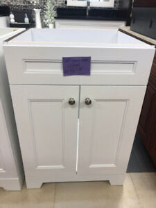 "Best Deal Solid Wood 24"" vanities on CLEARANCE!!!"