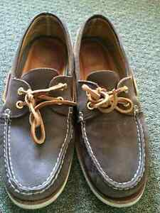 Authentic Sperry gold cup A/O Brown Men's Size 10.5M