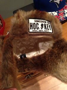 Leather Gongshow Toque