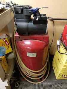 Colman Air compressor with hose & fittings