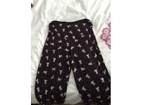 Size 12 maternity pj bottoms