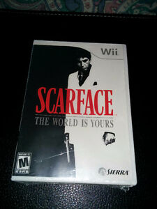Scarface:The world is yours (Wii) Brand new still sealed