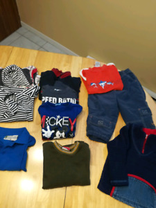 Lot de linge enfant propre
