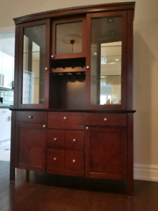Cabinet & Hutch - Solid Wood