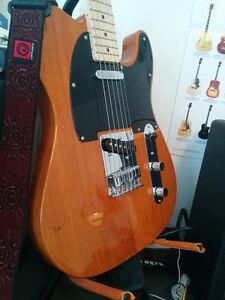 Squier Tele Affinity/Fender Mustang/Tascam dp008/3 pedale joyo