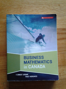 Business Mathematics in Canada Textbook