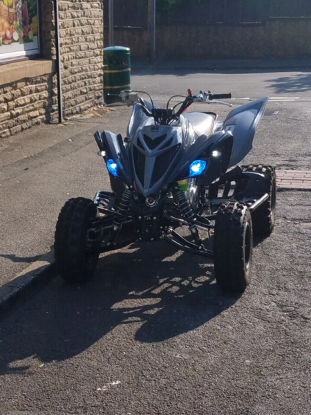 ROAD LEGAL YAMAHA YFM RAPTOR 700 2018 MANUAL GREY, used for sale  Pudsey, Bradford