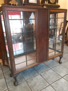 Gorgeous  antique walnut cabinet