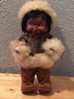 Vintage 1960's Regal Canada Kimmie Inuit doll