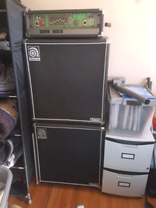 Ampeg 410he classic bass cabinets