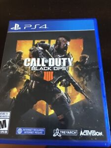Black ops 4 for the PS4