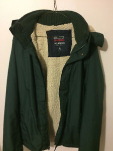 Hollister All Weather Lined Coat