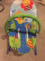 Baby vibrating chair.