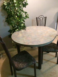 kitchen table & 3 chairs