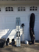 Women's Full Ski Equipment Set!