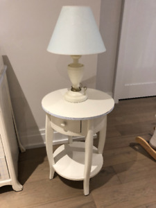Boys Bedside Table and Lamp