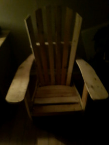 homemade chair